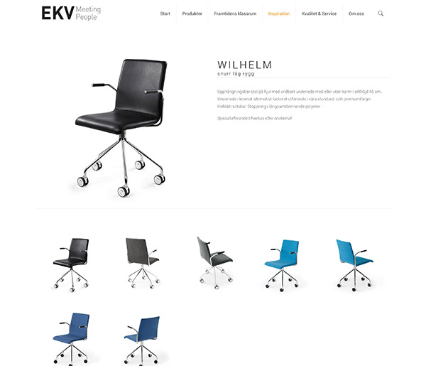 EKV – Möbler för människor som möts – konferens, skola