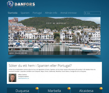 Danfors i Spanien & Portugal