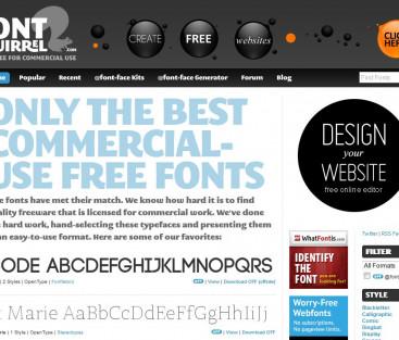 Ett lite roligare typsnitt till din hemsida?
