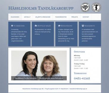 Hässleholms Tandläkargrupp AB