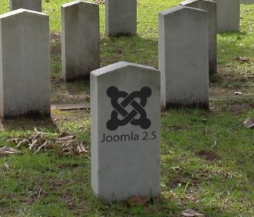 Joomla 2.5 - End of Life