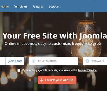 Joomla erbjuder gratis webbhotell