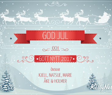 God Jul & Gott Nytt 2017