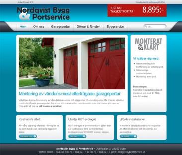 Nordqvist Bygg & Portservice