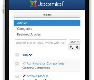 Tjuvkika på Joomla 3.0