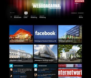 Webbdagarna 2012